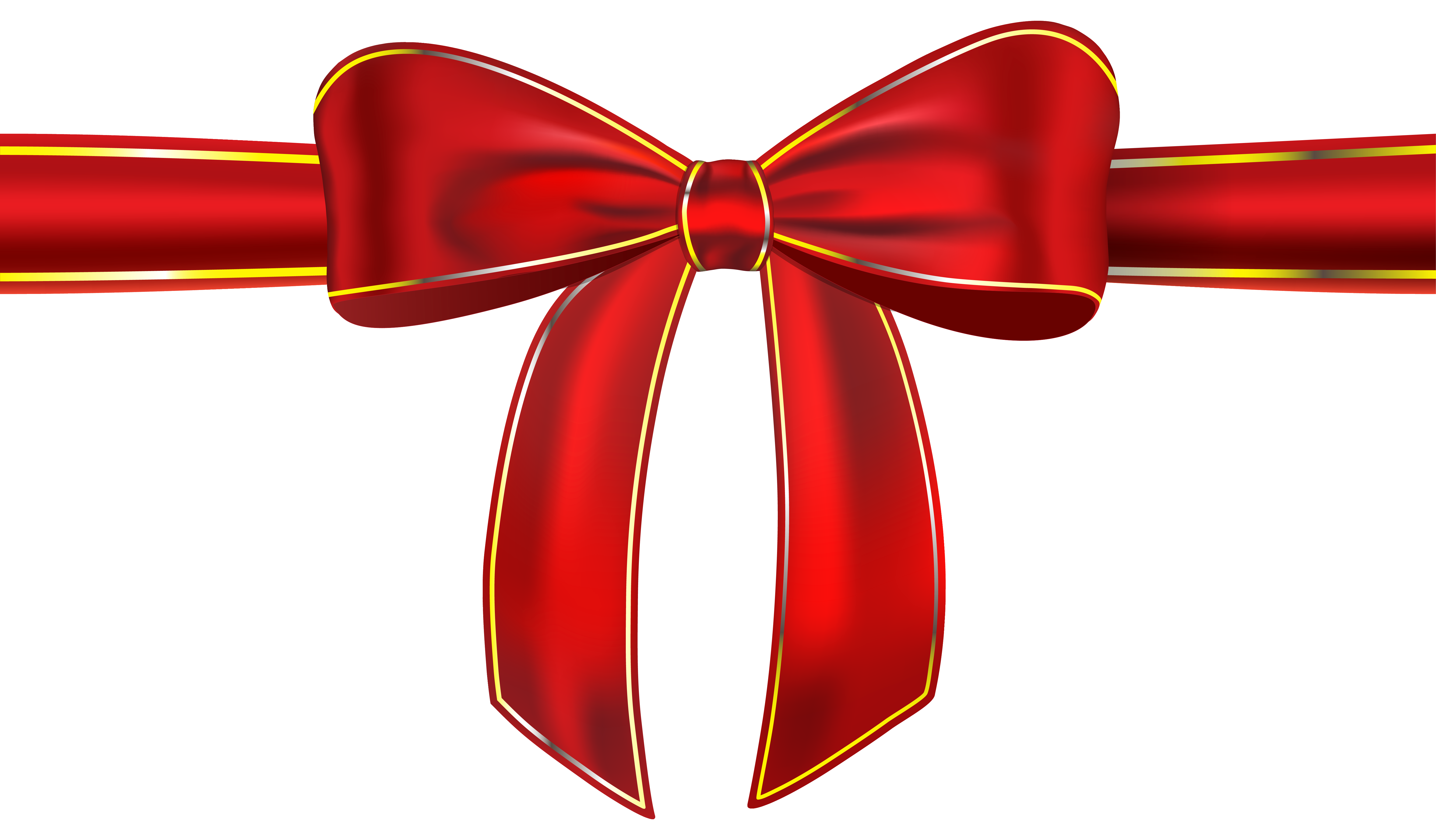 Bow Tie clipart gift bow Png clipart with red with