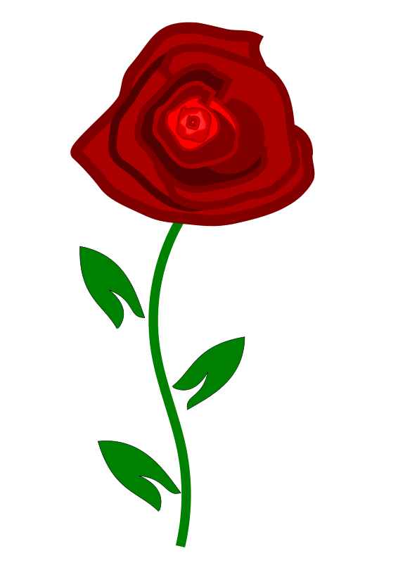 Beautiful clipart dozen rose Download Red Rose Free on