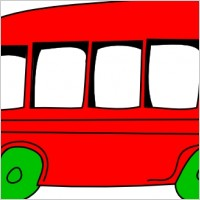 Bus clipart red bus Free School Bus Stop red%20bus%20clipart