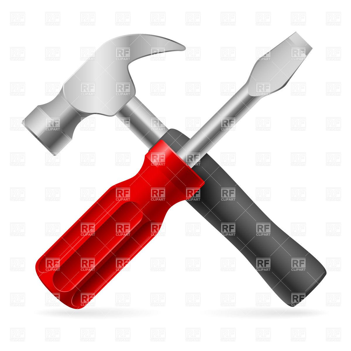Red clipart screwdriver #10