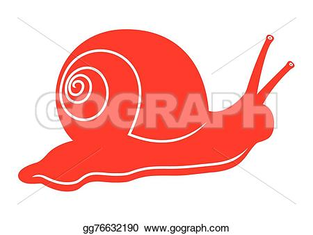 Red clipart snail #11