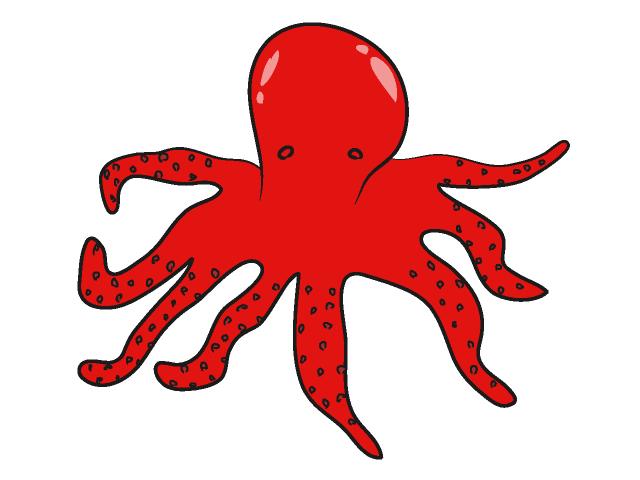 Animl clipart octopus #15
