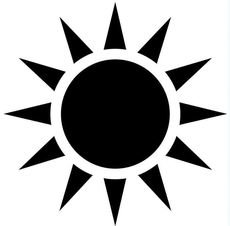 Simple clipart sunshine Art Free summer download download