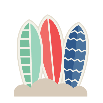 Red clipart surfboard #13