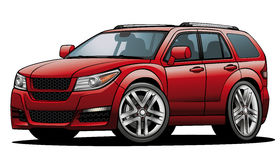 Red clipart suv #3
