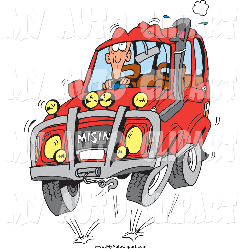 Red clipart suv #10