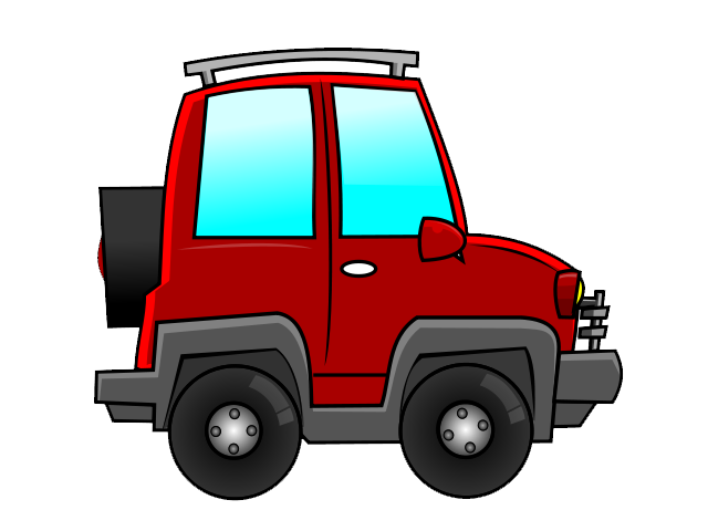 Red clipart suv #5