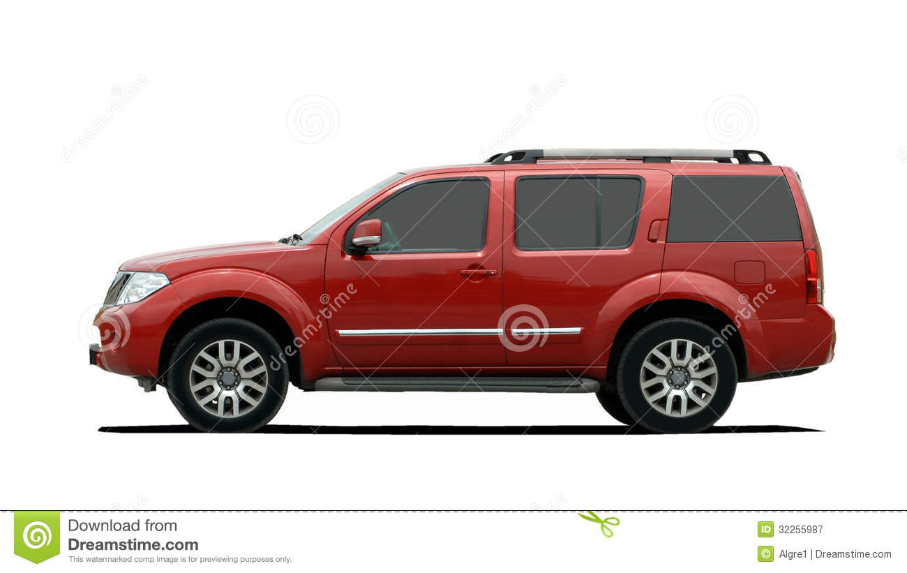 Red clipart suv #11