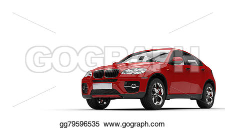 Red clipart suv #12