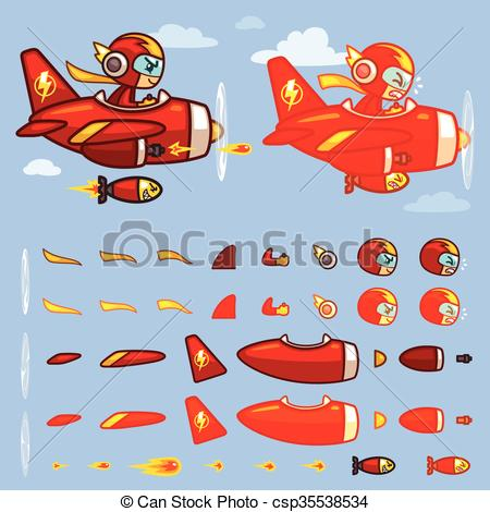 Thunder clipart red Vectors Red Plane Red Plane
