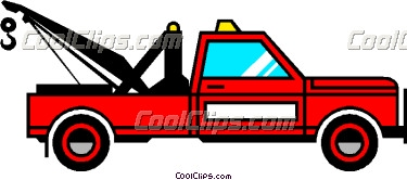 Red clipart tow truck #10
