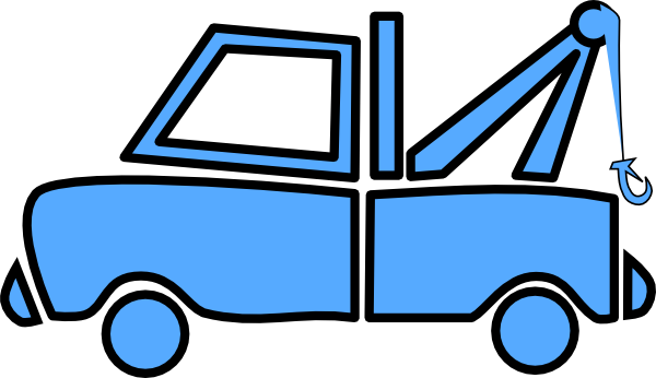 Red clipart tow truck #15