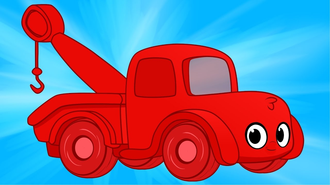 Red clipart tow truck #14