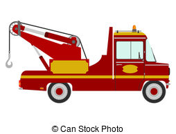 Red clipart tow truck #12