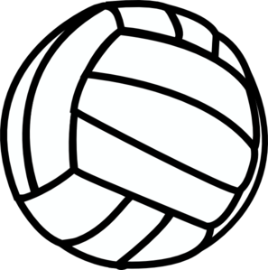 Black clipart volleyball  Club Wisconsin Select Volleyball
