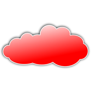 Red Cloud clipart #6