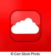 Red Cloud clipart #15