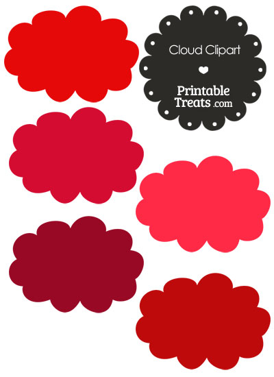 Red Cloud clipart #11