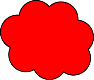 Red Cloud clipart Blue Cloud Clipart Art Cloud Cloud Art Clip