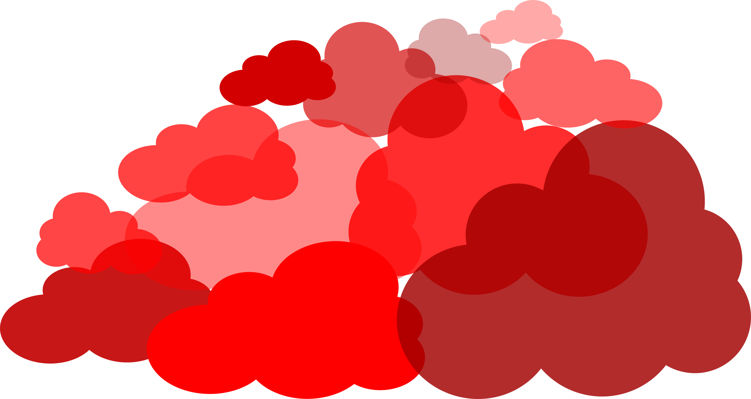 Red Cloud clipart #13