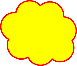Clouds clipart yellow Royalty art  com Clip