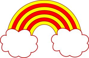 Red Cloud clipart Yellow Cloud Clipart #5