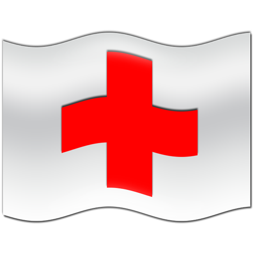 Red Cross clipart cartoon Wavy cross flag clipart ipharmd