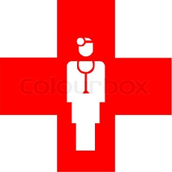 Red Cross clipart doctor appointment #9