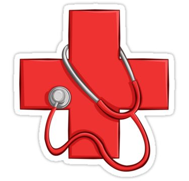 Red Cross clipart doctor bag #doctor art Pinterest Medic Redbubble