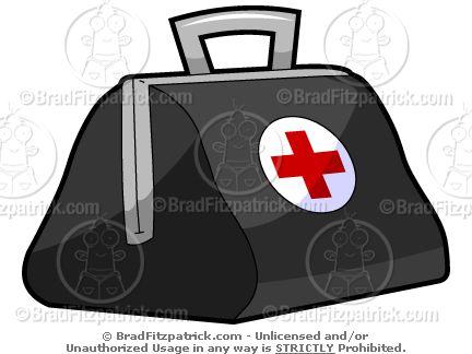 Red Cross clipart doctor bag VBS Cartoon 786 Bag Clipart