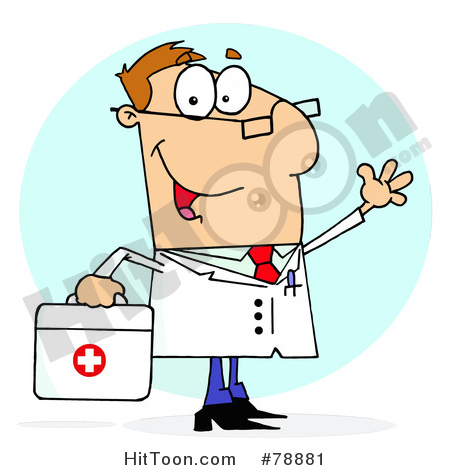 Red Cross clipart doctor bag Red Friendly Waving Bag Red