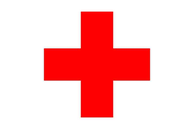 Red Cross clipart emergency CPR Clipart Free Sign Download
