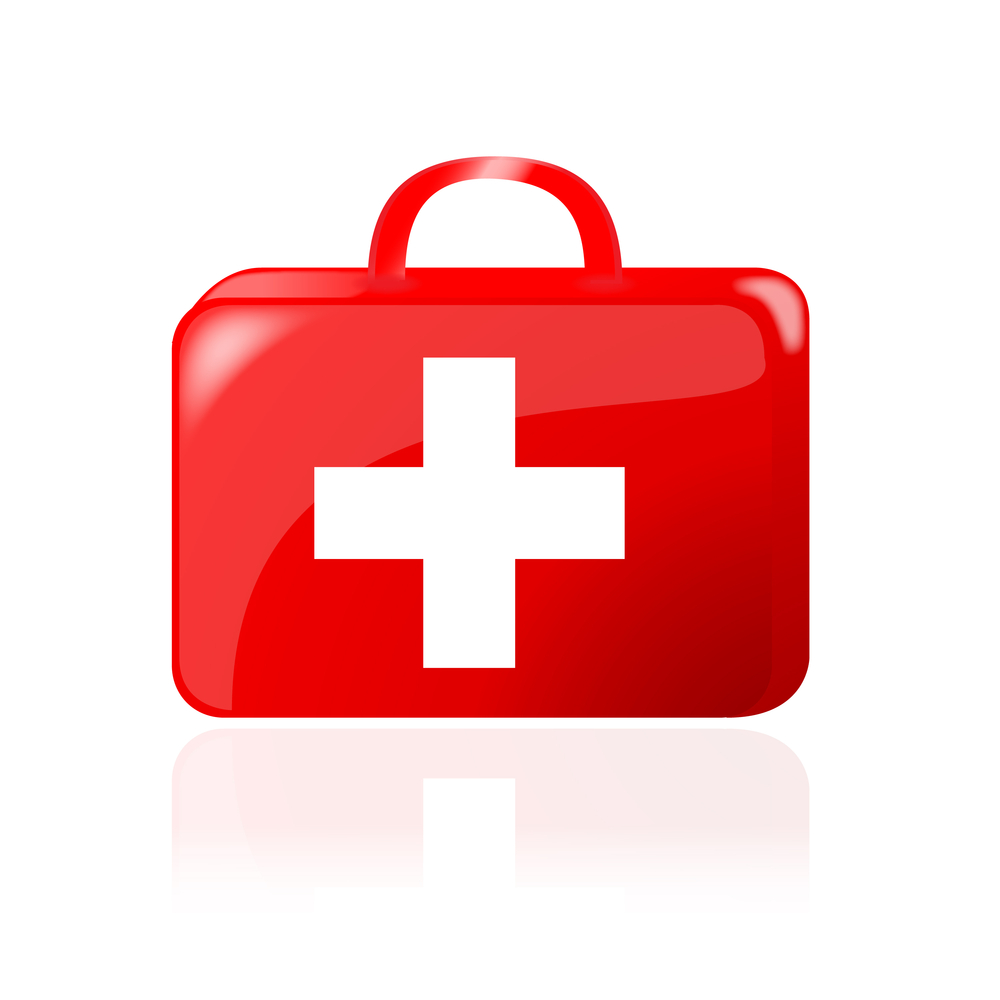 Red Cross clipart first aid box Art Clip First Aid Kit