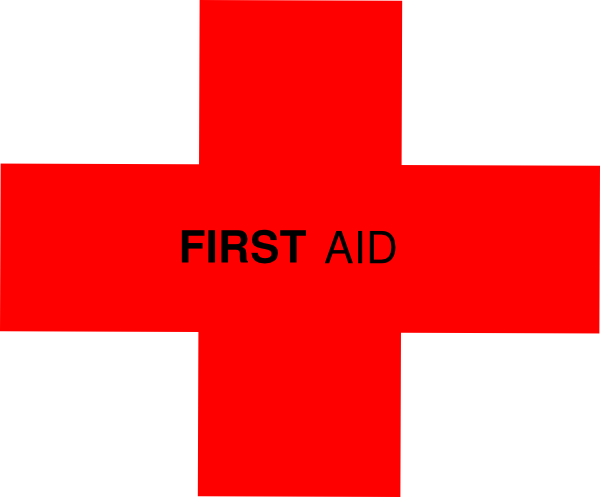 Red Cross clipart first aid box Clip Kit vector  Download