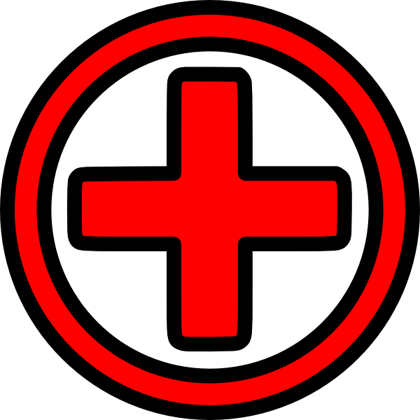 Red Cross clipart first aider Collection Cross Clipart Red aid