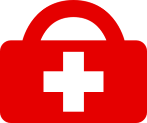 Red Cross clipart first aider At art Aid Art First