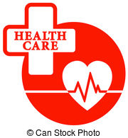 Red Cross clipart health Icon cross with care red