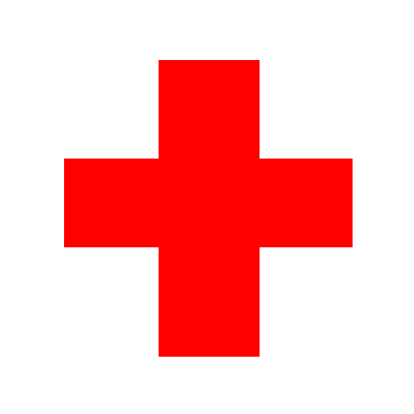 Red Cross clipart hospital symbol Collection red Art Clip Red