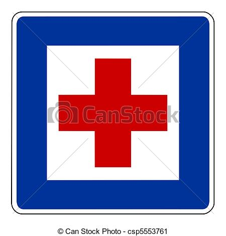 Red Cross clipart hospital symbol Cross sign of Clipart Hospital