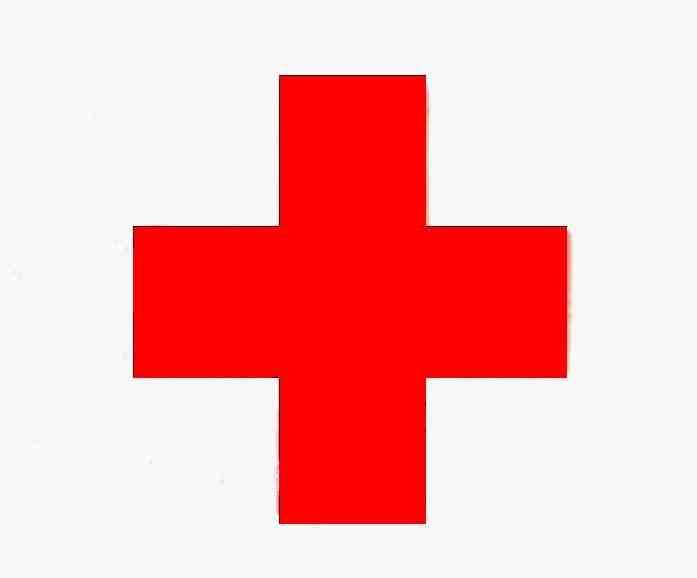 Red Cross clipart hospital symbol SYMBOL  CROSS RED