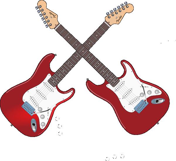 Red Cross clipart instrument Cross Fender Art com online