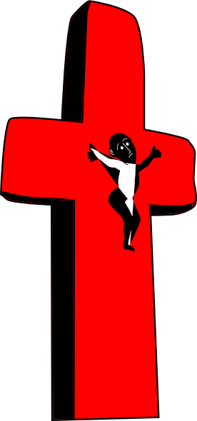 Red Cross clipart jesus Art Jesus image com
