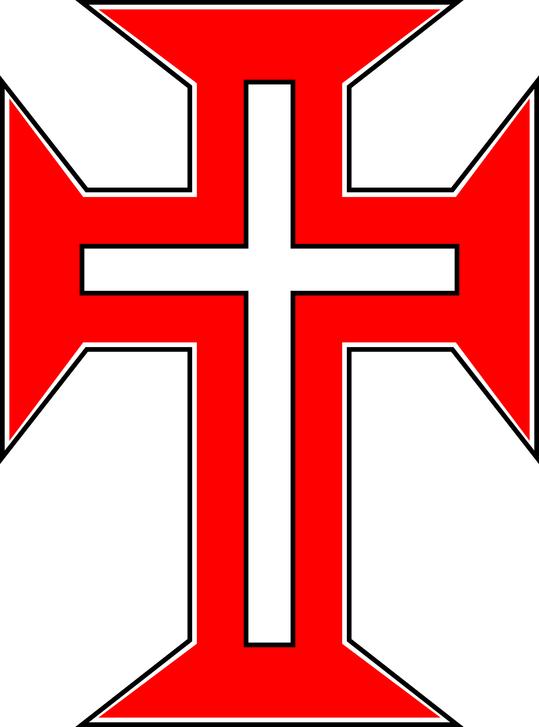 Red Cross clipart jesus Red Free Cross Image