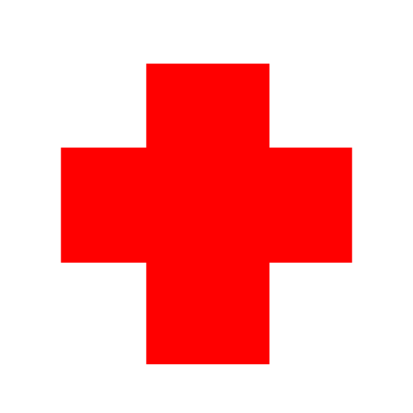 Red Cross clipart lifeguard Clip red This  red