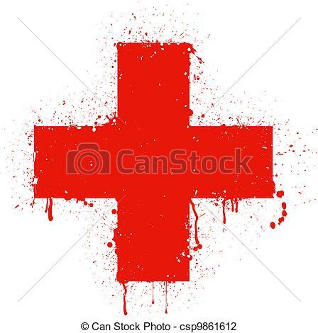 Red Cross clipart logo Of illustration Vector red cross