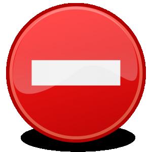 Red Cross clipart mistake Dialog Clip Error Error Tango