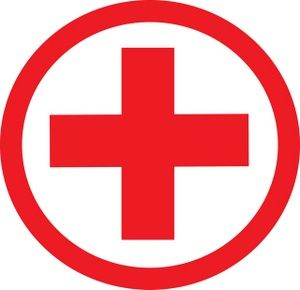 Red Cross clipart mistake Red Science logo cross