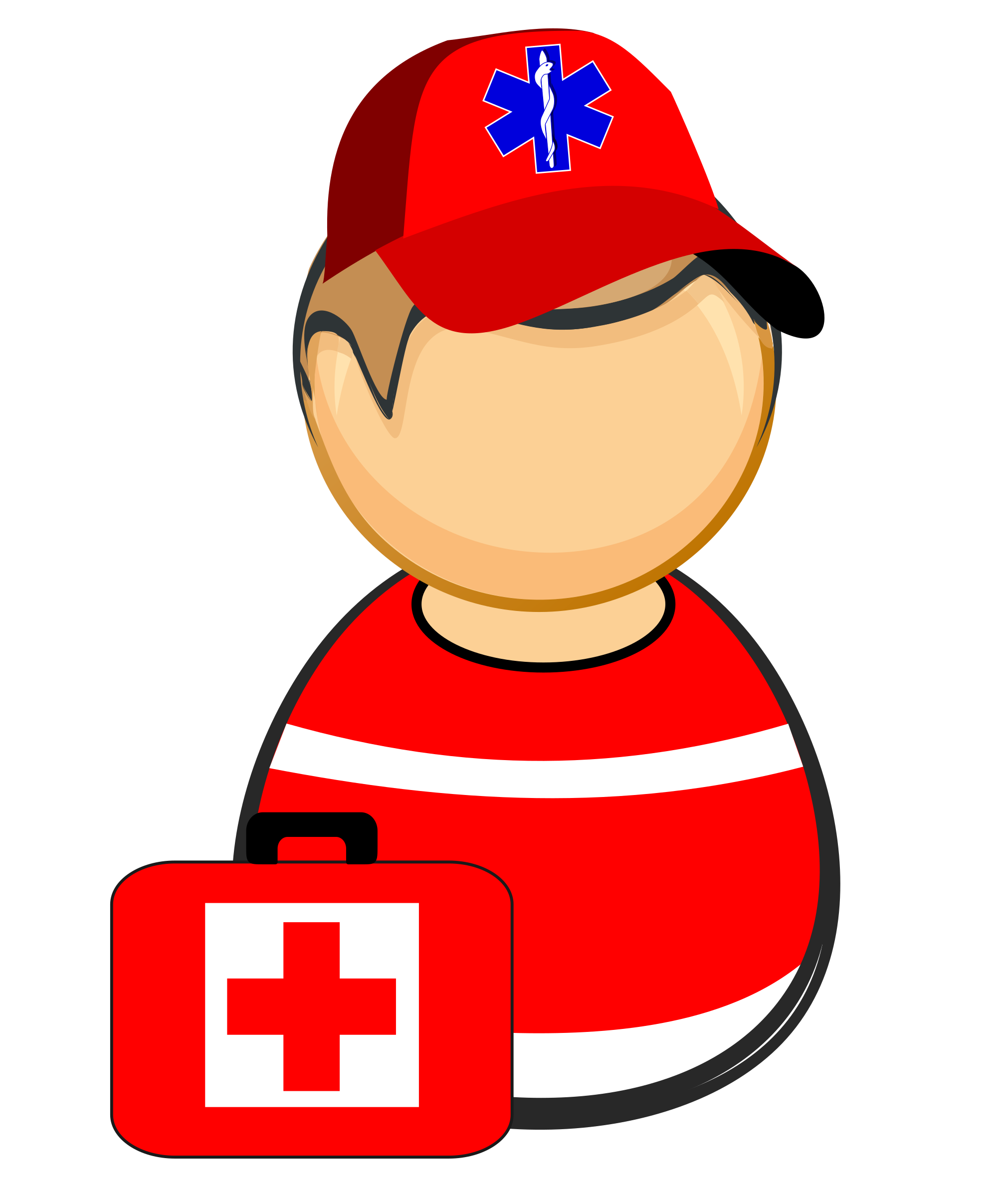 Red Cross clipart paramedic First First Clipart responder paramedic