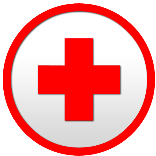 Red Cross clipart round Circle image clipart Round net