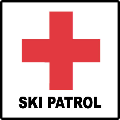 Red Cross clipart ski patrol Stonehouse Symbol Signs Symbol Trail